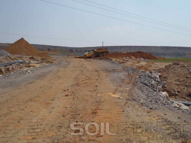 2 Mine Access Road in need of Stabilization and Surface Seal