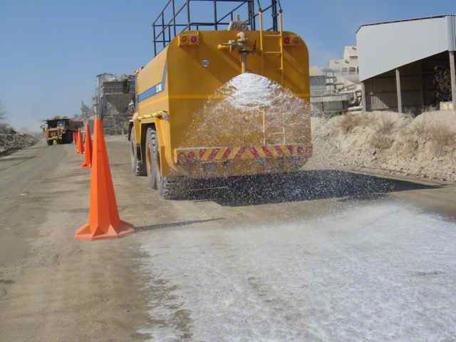 EBS Surface Seal Palabora Mine Haul Road Surface Seal