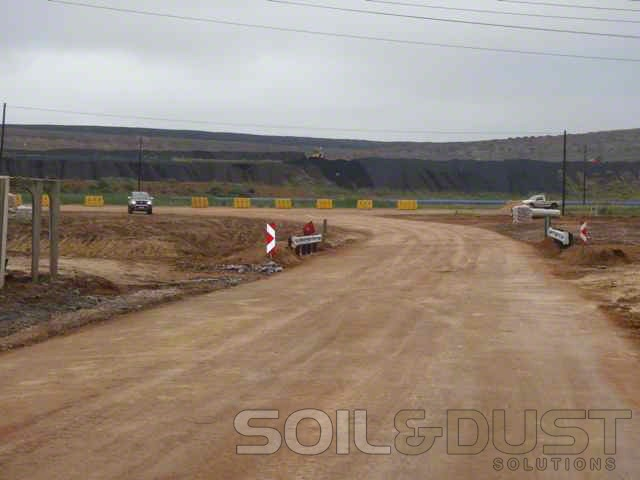 EBS Stabilized and Sealed Mine Access Road
