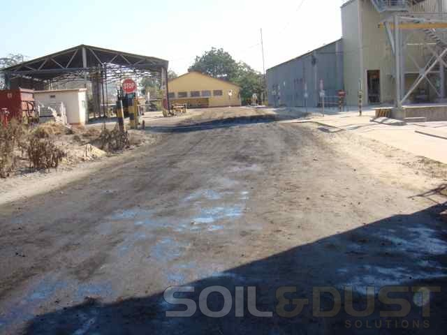 Dust Suppression for internal roads