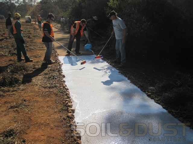 EBS Pathway Surface Seal Application