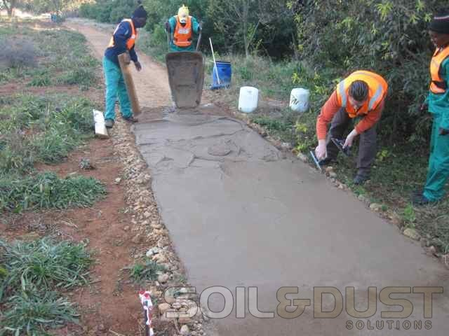 EBS Private Estate Walking Path Construction
