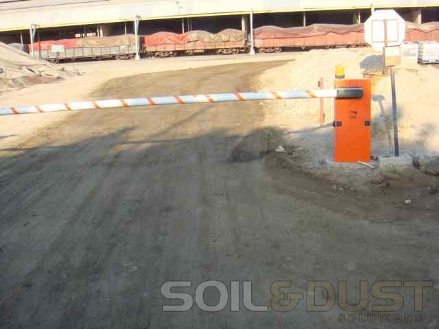 Internal Plant Road Dust Supression