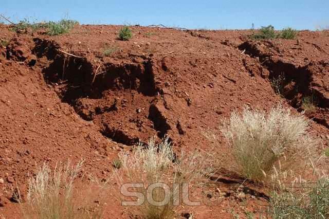 Stockpile erosion prevention