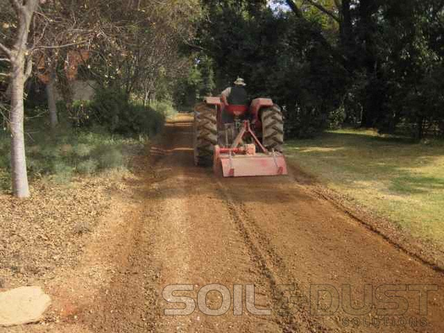 EBS Mix - in application of private road