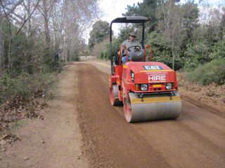 compaction of gravel road