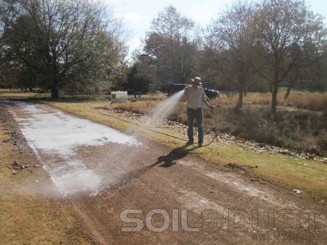EBS application for stabilization of private road