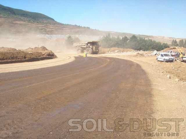Fugitive dust control