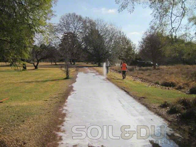 -EBS surface seal of gravel road