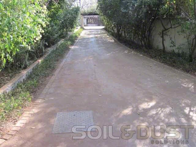 EBS Private estate Gravel road stabilization