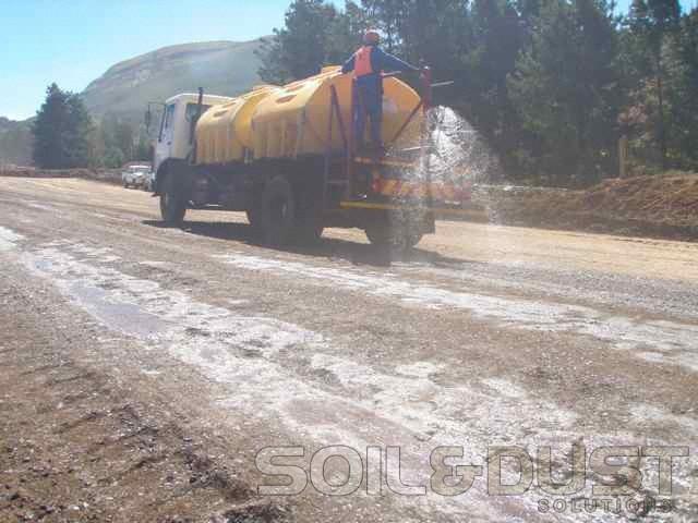 Haul Road Dust Control