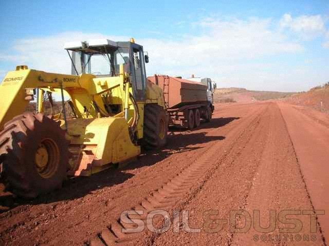 Mine Haul Road dust Prevention