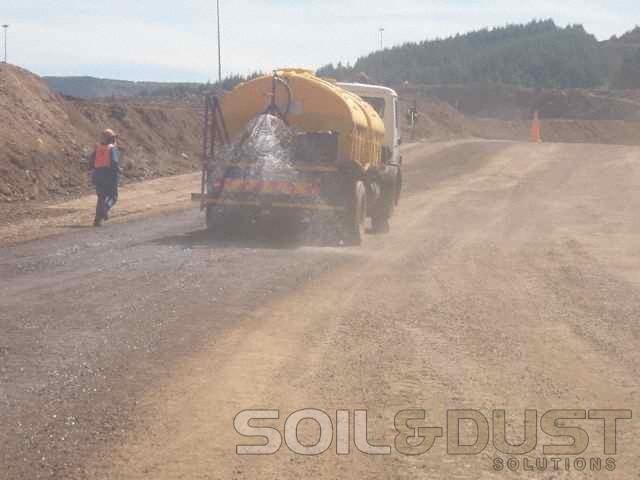 Haul road Fugitive Dust prevention
