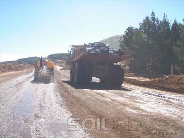 Fugitive Dust prevention