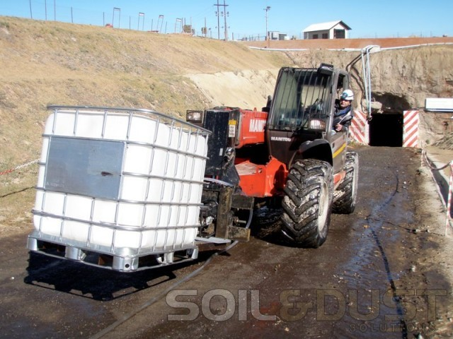 Dust Control on Decline Great Basin Gold