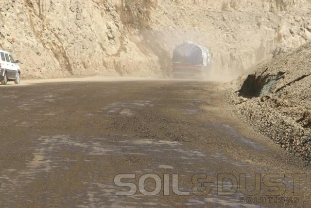 dust control mine haul roads.