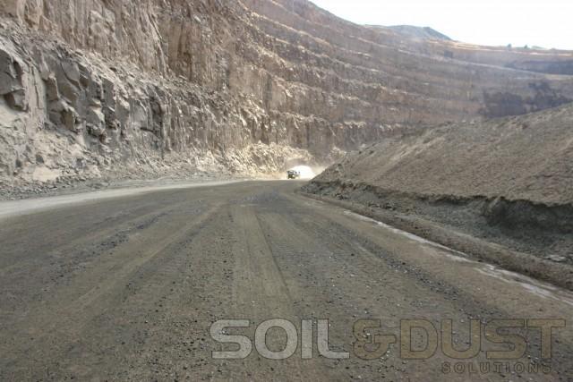 dust control mine haul roads