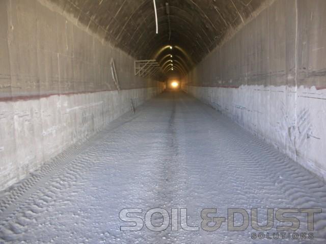 Underground mine dust control