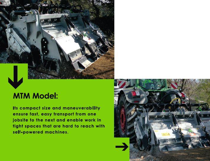 MTM Road Cycler machine attachement