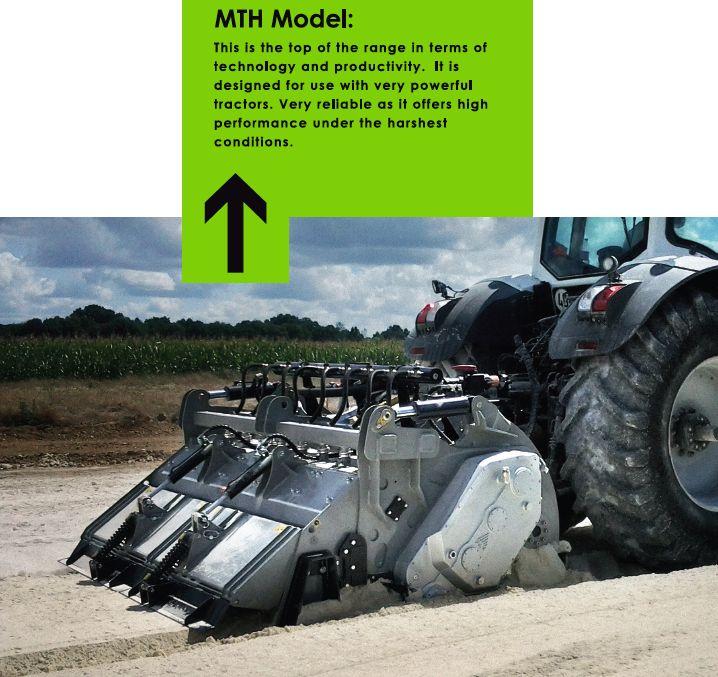 MTH recycler attachement machine
