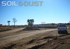 Mine Haul Road dust control