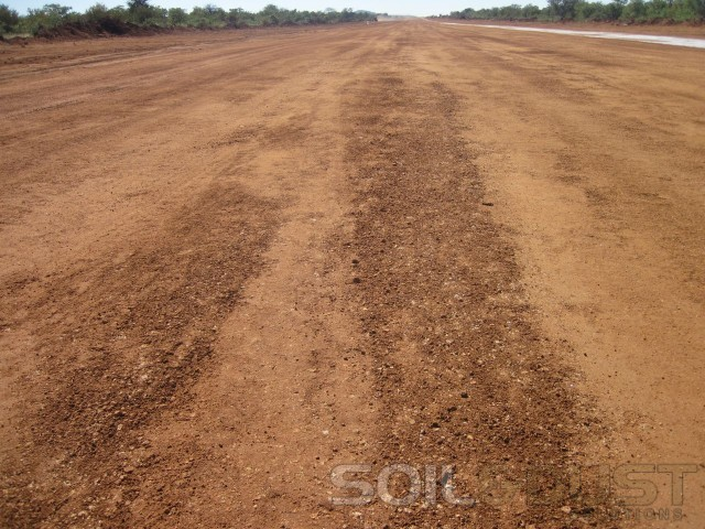 Airstrip before EBS Surface Seal