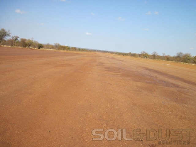 EBS Surface Treated Airstrip
