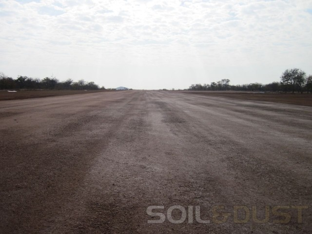 Completed Airstrip
