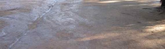 Private Estate Parking Area Dust Control