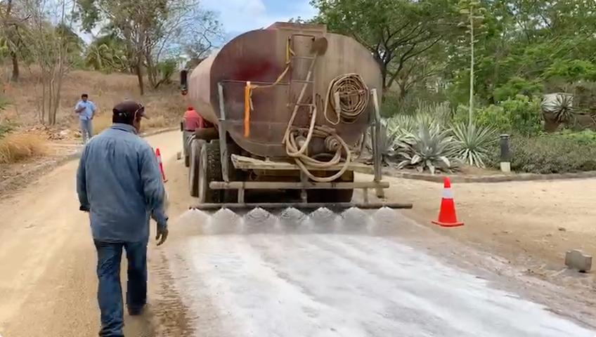 Gravel Road Construction