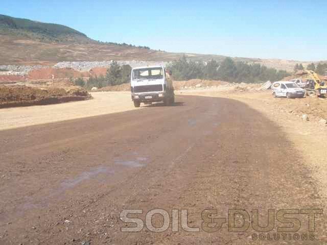 Mine Haul Roads Dust Control