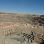 Open pit mining dust control