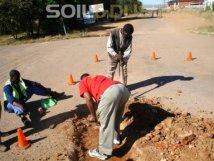 Pot-hole repair