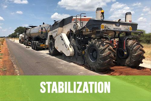 Base Layer Stabilization