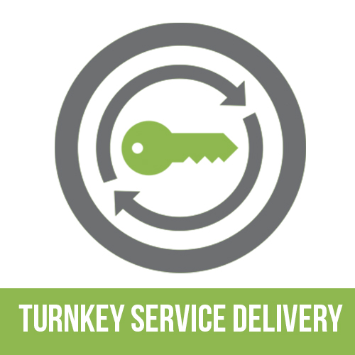 Turn-Key Service Delivery